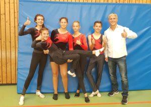 GSV Trampolin-Mannschaft des 1. Kampftages der Schülerliga 20192019
